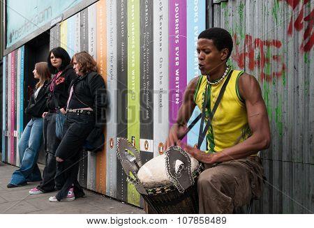 Street Artist In London