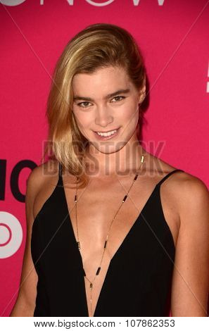 LOS ANGELES - NOV 10:  Gemita Samarra at the T-Mobile Un-carrier X Launch Celebration at the Shrine Auditorium on November 10, 2015 in Los Angeles, CA