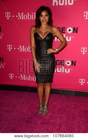 LOS ANGELES - NOV 10:  Julissa Bermudez at the T-Mobile Un-carrier X Launch Celebration at the Shrine Auditorium on November 10, 2015 in Los Angeles, CA