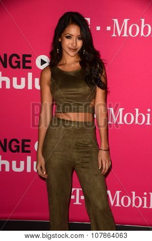 LOS ANGELES - NOV 10:  Melanie Iglesias at the T-Mobile Un-carrier X Launch Celebration at the Shrine Auditorium on November 10, 2015 in Los Angeles, CA