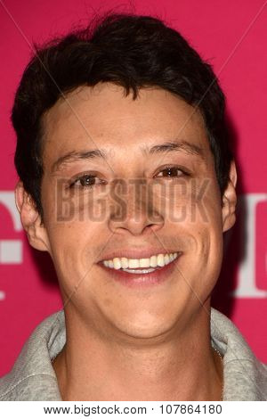 LOS ANGELES - NOV 10:  Reynaldo Pacheco at the T-Mobile Un-carrier X Launch Celebration at the Shrine Auditorium on November 10, 2015 in Los Angeles, CA
