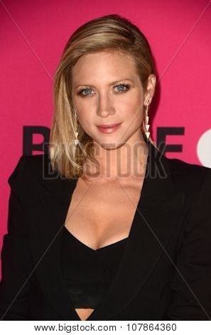 LOS ANGELES - NOV 10:  Brittany Snow at the T-Mobile Un-carrier X Launch Celebration at the Shrine Auditorium on November 10, 2015 in Los Angeles, CA