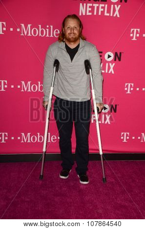 LOS ANGELES - NOV 10:  Justin Turner at the T-Mobile Un-carrier X Launch Celebration at the Shrine Auditorium on November 10, 2015 in Los Angeles, CA