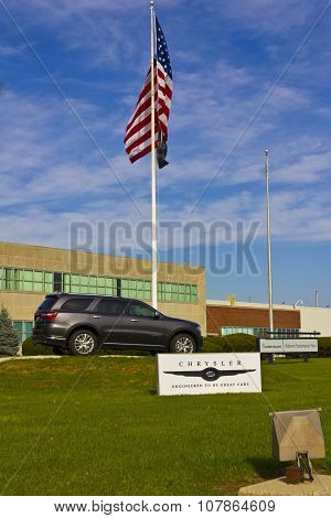 Kokomo - November 2015: Chrysler Transmission Plant.