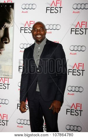 LOS ANGELES - NOV 10:  Antoine Fuqua at the AFI Fest 2015 Presented by Audi -