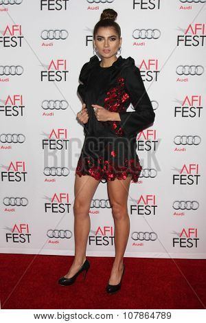 LOS ANGELES - NOV 10:  Blanca Blanco at the AFI Fest 2015 Presented by Audi -