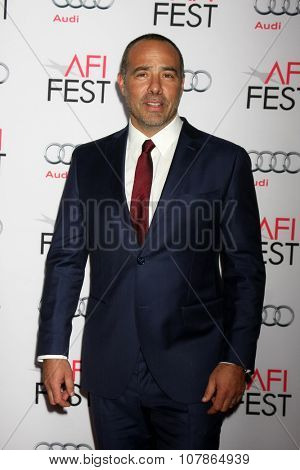 LOS ANGELES - NOV 10:  Peter Landesman at the AFI Fest 2015 Presented by Audi -