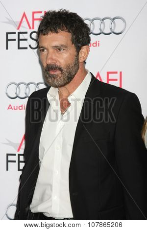 LOS ANGELES - NOV 9:  Antonio Bandares at the AFI Fest 2015 Presented by Audi -
