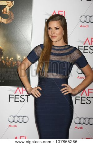 LOS ANGELES - NOV 9:  Nikki Moore at the AFI Fest 2015 Presented by Audi -