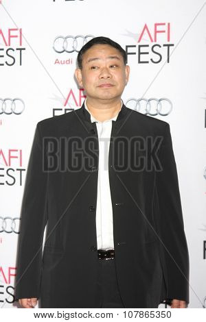 LOS ANGELES - NOV 9:  Alan Zhang at the AFI Fest 2015 Presented by Audi -