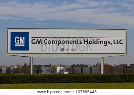 Kokomo - November 2015: GM Components Holdings.