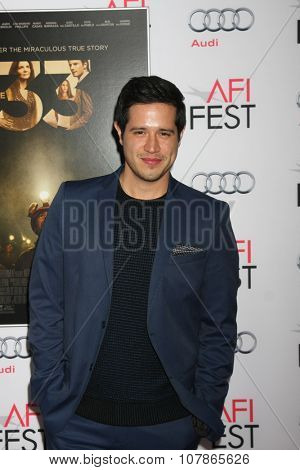 LOS ANGELES - NOV 9:  Jorge Diaz at the AFI Fest 2015 Presented by Audi -