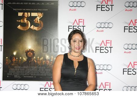 LOS ANGELES - NOV 9:  Patricia Riggen at the AFI Fest 2015 Presented by Audi -