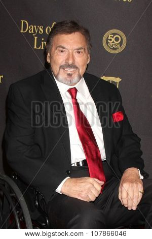 LOS ANGELES - NOV 7:  Joe Mascolo at the Days of Our Lives 50th Anniversary Party at the Hollywood Palladium on November 7, 2015 in Los Angeles, CA