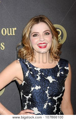 LOS ANGELES - NOV 7:  Jen Lilley at the Days of Our Lives 50th Anniversary Party at the Hollywood Palladium on November 7, 2015 in Los Angeles, CA