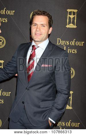 LOS ANGELES - NOV 7:  Kyle Brandt at the Days of Our Lives 50th Anniversary Party at the Hollywood Palladium on November 7, 2015 in Los Angeles, CA