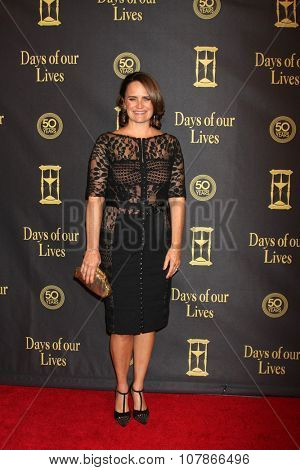 LOS ANGELES - NOV 7:  Lisa Trusel at the Days of Our Lives 50th Anniversary Party at the Hollywood Palladium on November 7, 2015 in Los Angeles, CA