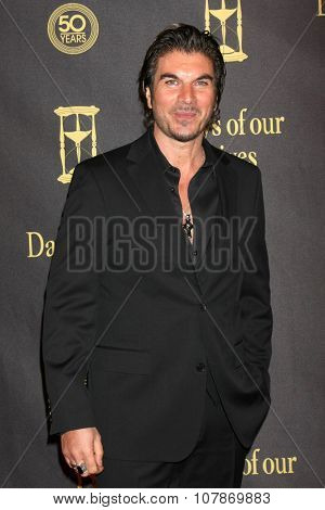 LOS ANGELES - NOV 7:  Victor Alfieri at the Days of Our Lives 50th Anniversary Party at the Hollywood Palladium on November 7, 2015 in Los Angeles, CA