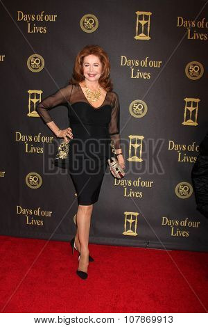 LOS ANGELES - NOV 7:  Suzanne Rogers at the Days of Our Lives 50th Anniversary Party at the Hollywood Palladium on November 7, 2015 in Los Angeles, CA