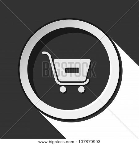 Icon - Shopping Cart Minus With Shadow