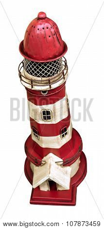 Toy Red Lighthouse