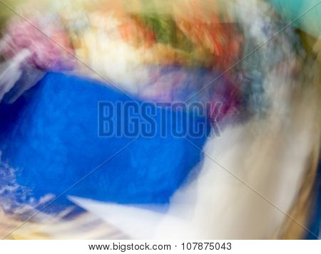 The varicolored blur Abstract picture.