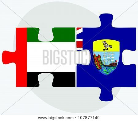 United Arab Emirates And Saint Helena