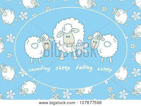 Counting Sheep Falling Asleep