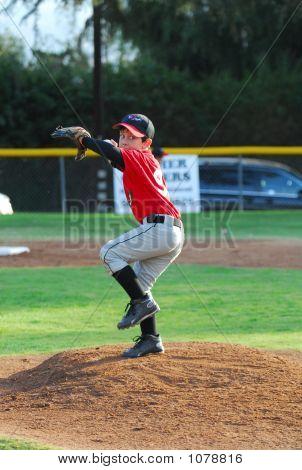 Pony League Baseball Pitcher #2