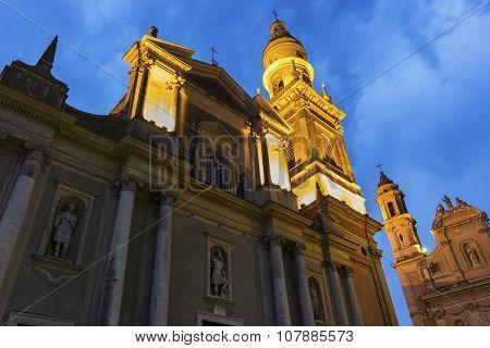 Saint-michel Archange Basilica, Menton, France