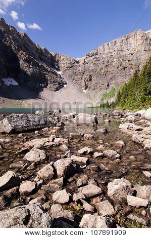 Bougeau lake shallows