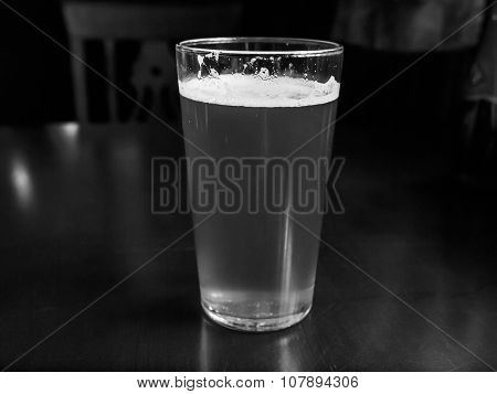 Black And White Bitter Beer