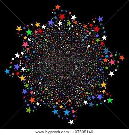 Fireworks Star Flower