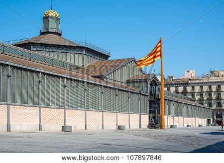 El Born Market Or Mercat Del Born. Barcelona, Spain.