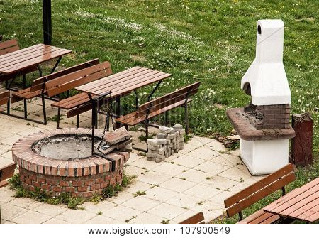 Garden Restaurant With The Stone Grill