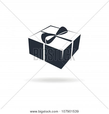 icon box with gift or present