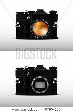 Retro film SLR camera