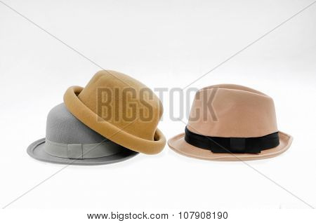 Stacked fedora female hat