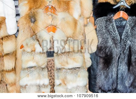Coats Made Of Natural Fur For Sale.