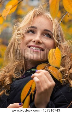 Pretty Happy Woman