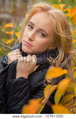Sad Pensive Woman