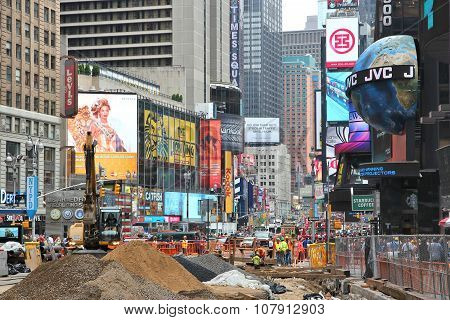 New York Construction Site