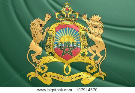 Royal Standard Of Morocco