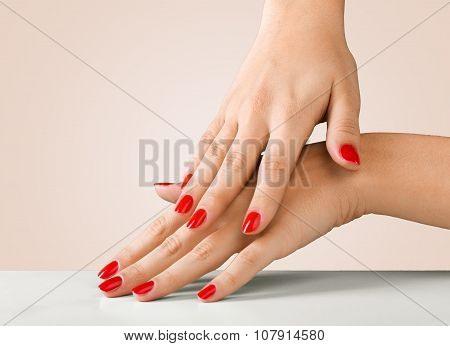 Fingernail.
