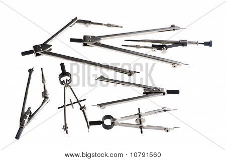 Drafting Tool Isolated On White