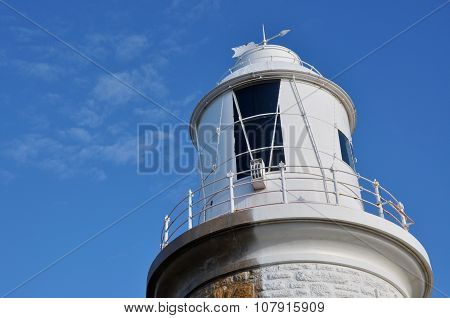 Lighthouse in the Blue