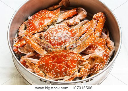 Steamed Crab.