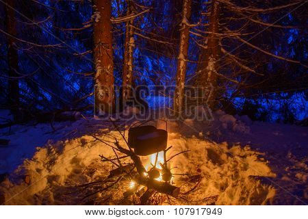 Cooking In Winter Travel
