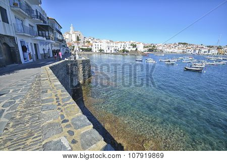 The Colorful Village Of Cadaques