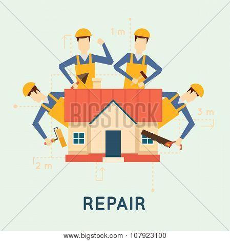 Home repairs.